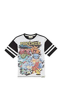 Pokemon Character Print T-Shirt - Multi