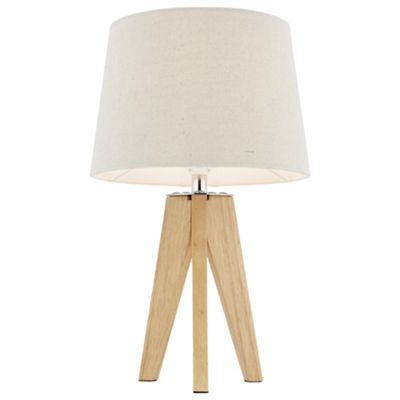 Buy tripod table lamp wood from our table desk bedside lamps tripod table lamp wood aloadofball Images