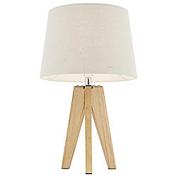 Tripod Table Lamp Wood