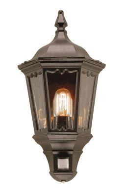 Elstead Lighting Security Outdoor Wall Lantern in Black