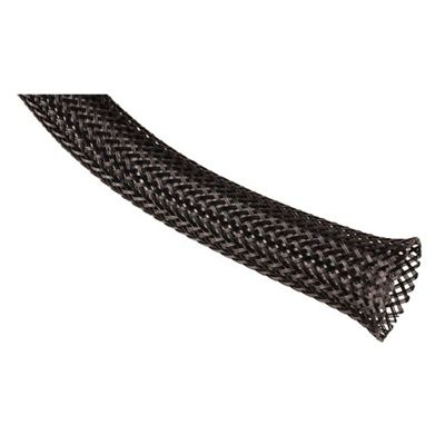 LINDY Expandable Braided Sleeving 10m