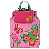 Children's Pink Butterfly Backpack