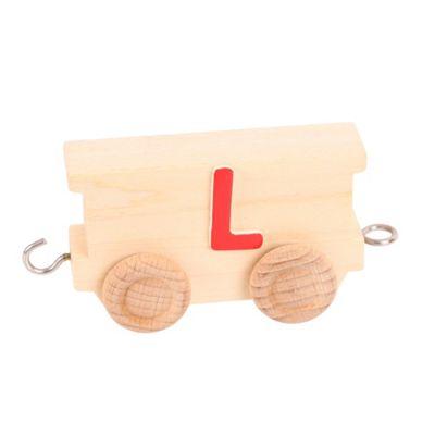 Bigjigs Toys BJ201L Name Train Letter L