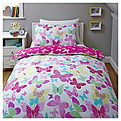Butterfly Single Duvet Set