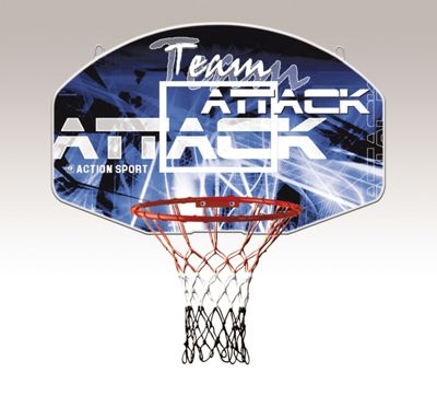 Sure Shot Team Attack Backboard and ring