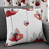 Fusion Kiera Red Cushion Cover - 43x43cm