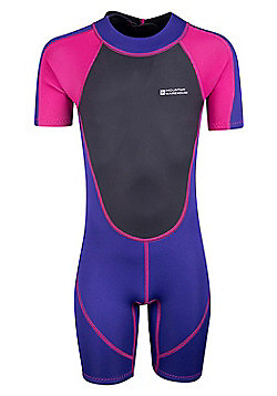 Mountain Warehouse Girls Wetsuit Neoprene Fabric with Flat Seams - 2.5 mm - Yellow