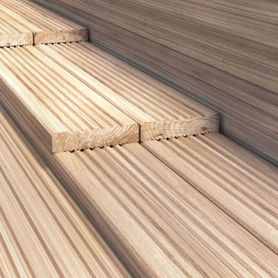 BillyOh 4.2 metre Pressure Treated Wooden Decking (120mm x 28mm) - 45 Boards - 189 Metres