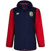 British & Irish Lions Rugby Kids Rain Jacket - Navy