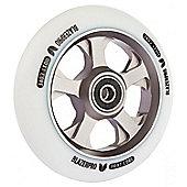Blazer Pro 110mm XT Wheel - White/Titanium