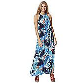F&F Palm Leaf Print Maxi Dress - Multi