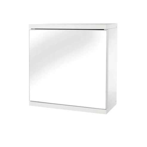 Croydex Simplicity Self-Assembly 1 Door Bathroom Cabinet