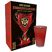 Victors Drinks Strawberry & Lime Cider 20 Pint