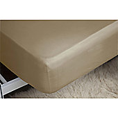 Belledorm 200 Thread Count Polycotton Fitted Sheet - Natural