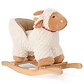 Cute Lamb Rocking Horse With Seat