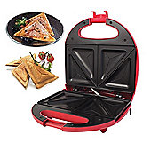 700w Red 2 Slice Sandwich Toaster Maker