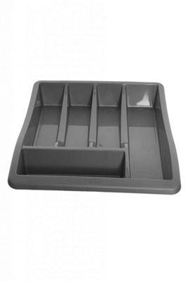 Whitefurze Black Cutlery Tray