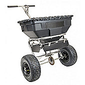 The Handy 125lbs Push Salt Spreader