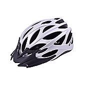 Ammaco MTB Road Bike Lightweight Helmet Silver Rubber 54-58cm