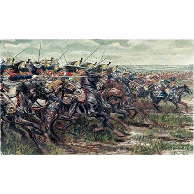 Italeri Napoleonic Wars French Cuirassieurs 6084 1:72 Figures Kit