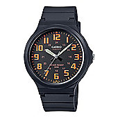 Casio MW-240-4BVEF Mens Analogue Watch│Resin Strap│50M WR│Black