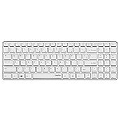 Rapoo E9110 2.4GHz Wireless Ultra-slim Keyboard (White) UK Layout