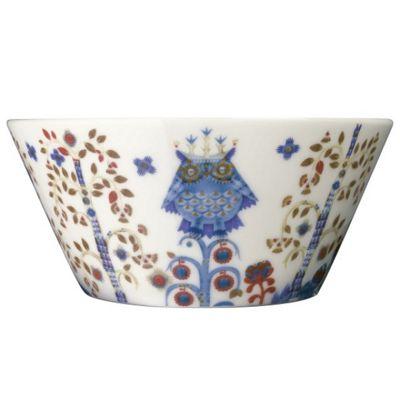 Iittala Taika Porcelain Dessert Bowl in White