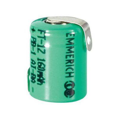Emmerich NiMH Battery 1/3 AAA FT-1Z 160 Mah
