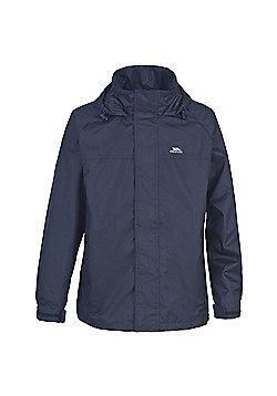 Trespass Mens Nabro Waterproof Rain Jacket - Navy