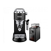 Delonghi Dedica EC685.BK Matt Black Coffee Machine