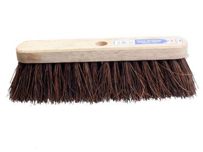 Faithfull Broom Head Stiff Bassine 300mm (12 in)