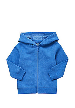 F&F Zip-Through Hoodie - Blue