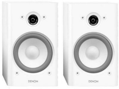 DENON SCN5 SPEAKERS (PAIR) (BLACK)