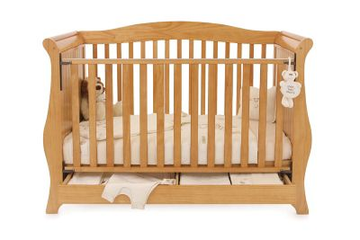 Babystyle Hollie Sleigh Bed in Country Pine