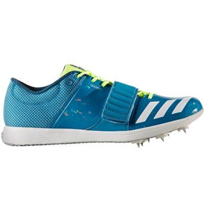 adidas adizero High Jump Track & Field Spike Shoe Blue - UK 5