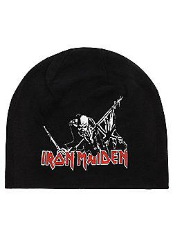 Iron Maiden The Trooper Black Beanie - Black