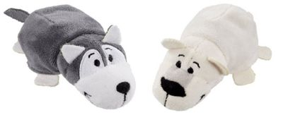FlipaZoo 2 in 1 Little Flipzees Polar Bear/Husky Plush