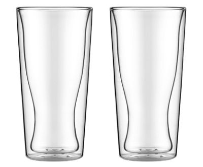 Bodum SKAL Double Wall Thermo Glasses 0.35L, Set of 2
