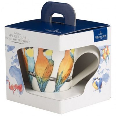 Villeroy and Boch NewWave Caffe Gift Boxed Bee-eater Mug 0.35L