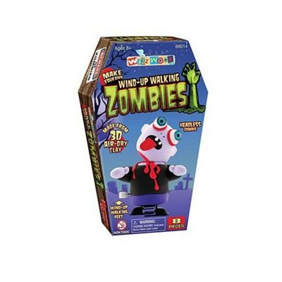 University Games Wizz Worx Wind-up Walking Zombies Headless Zombie