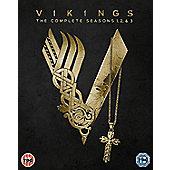 Vikings, The Season 1-3 DVD