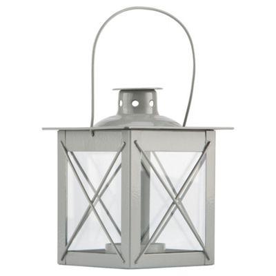 Tesco Metal Lantern, Stone