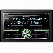 Pioneer In Car Stereo-Media Player│DAB+│CD│USB│Aux│Bluetooth│iPod-iPhone-Android