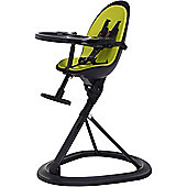 ickle bubba Orb Highchair (Black/Lime)