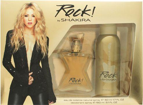Shakira Rock! by Shakira Gift Set 50ml EDT + 150ml Deodorant Spray For Women