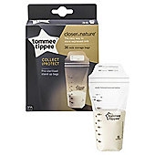 Tommee Tippee Closer To Nature Milk Storage Bags - 36 Pack