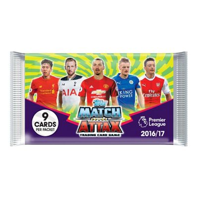 Topps Match Attax Trading Card Game - 1 Pack