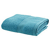 TESCO ZERO TWIST HAND TOWEL AQUA