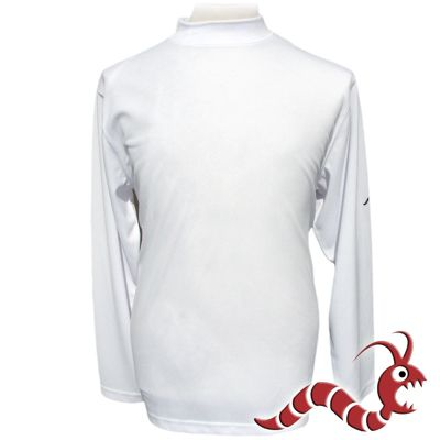 Woodworm Golf Clothes Mock Long Sleeve White 3Xl