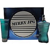 Jean Paul Gaultier Le Male Gift Set 125ml EDT + 75ml All-Over Shower Gel For Men